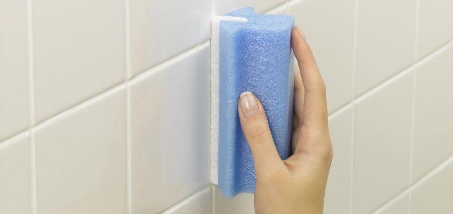 чистим ванную от плесени