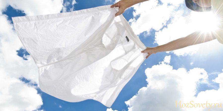 как удалить пятна от краски для волос с белой одежды