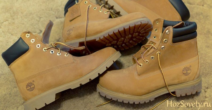 как почистить обувь из нубука