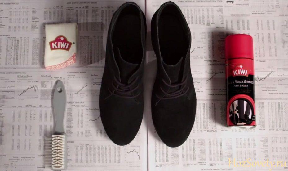 Как ухаживать за обувью из нубука зимой и летом