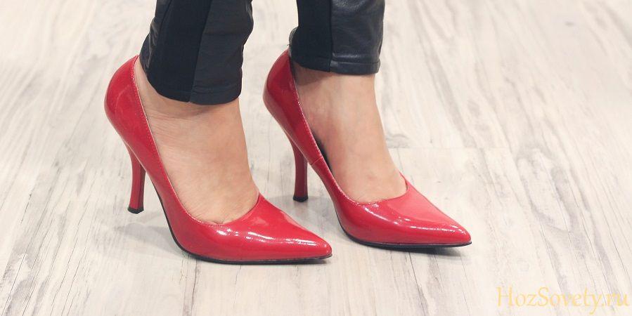 Как ухаживать за лакированной обувью: уход и восстановление