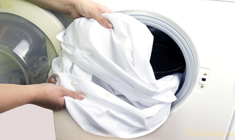 восстановление белой одежды