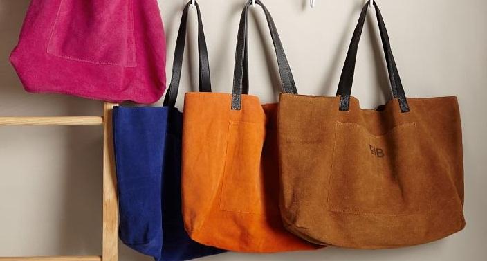 Как почистить светлую замшевую сумку