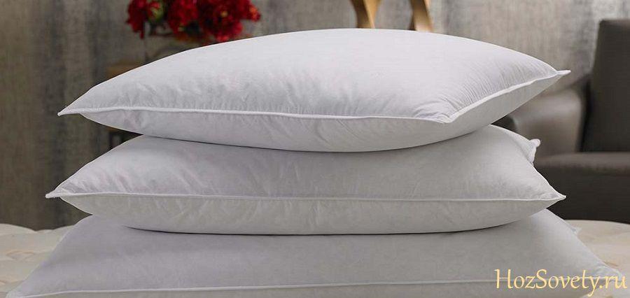 подушки из пера
