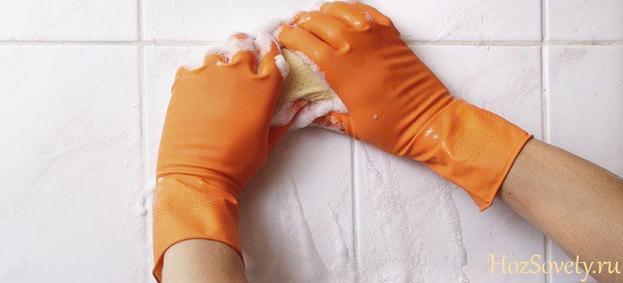 как устранить плесень в ванной