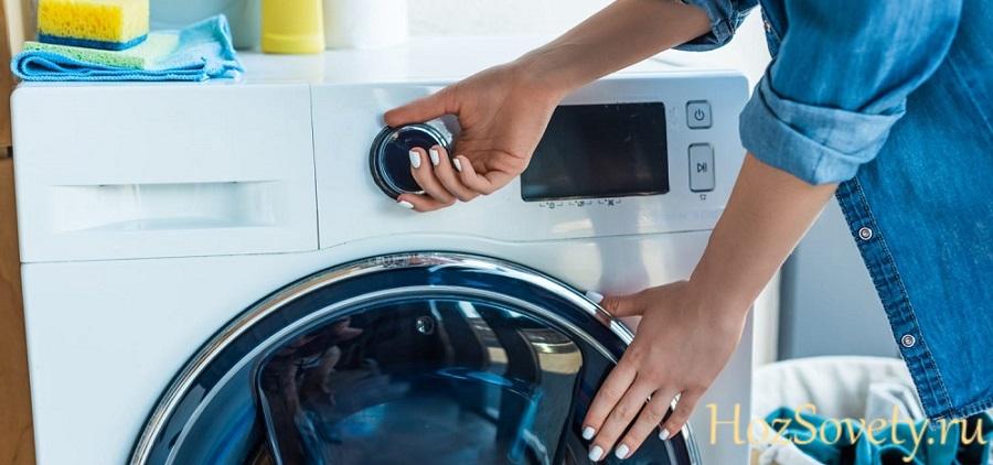 как почистить резиновую манжету в стиральной машине